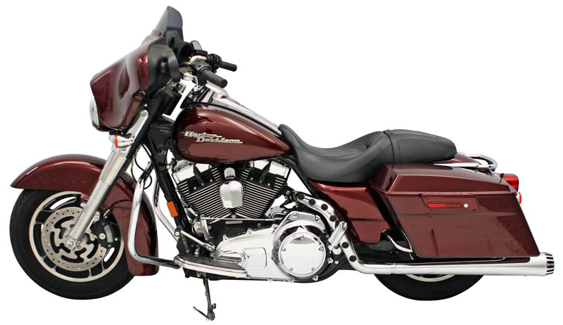 Hot Rod Pipe for Bagger Chrome 2010 on up