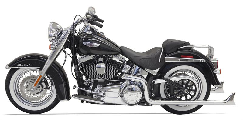 Chrome True Duals W 30 In Long Fishtail Mufflers For