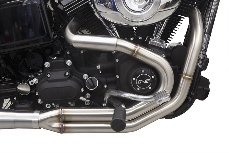 Road Rage Type Iii Stainless 2 Gt 1 For Dyna 91 2017 1d1ss
