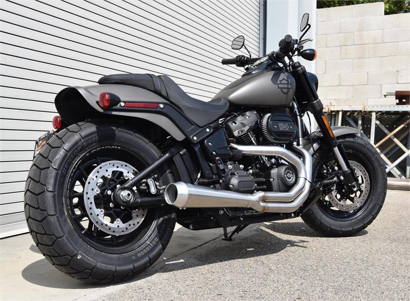 road rage 2 into1 stainless for 2018 2019 fat bob slim. Black Bedroom Furniture Sets. Home Design Ideas