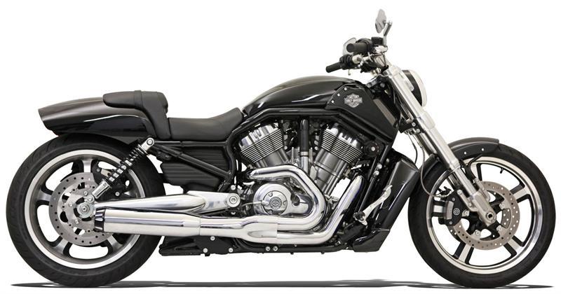 Chrome Road Rage Ii B1 Power Exhaust System For Vrscf V