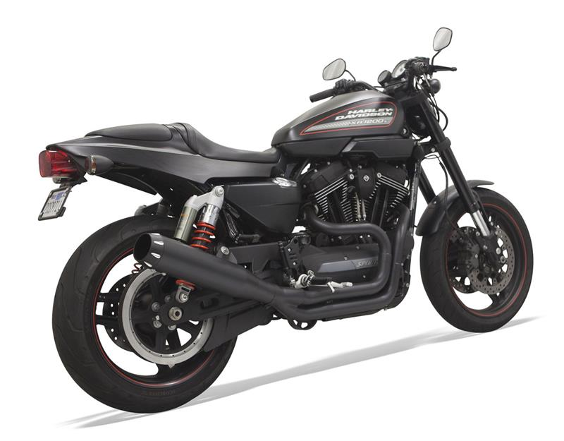 Bassani Road Rage 2-Into-1 System With B1 Muffler for XR1200 ...