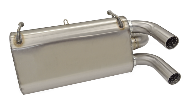 Performance Exhaust System for the Polaris RZR XP 1000