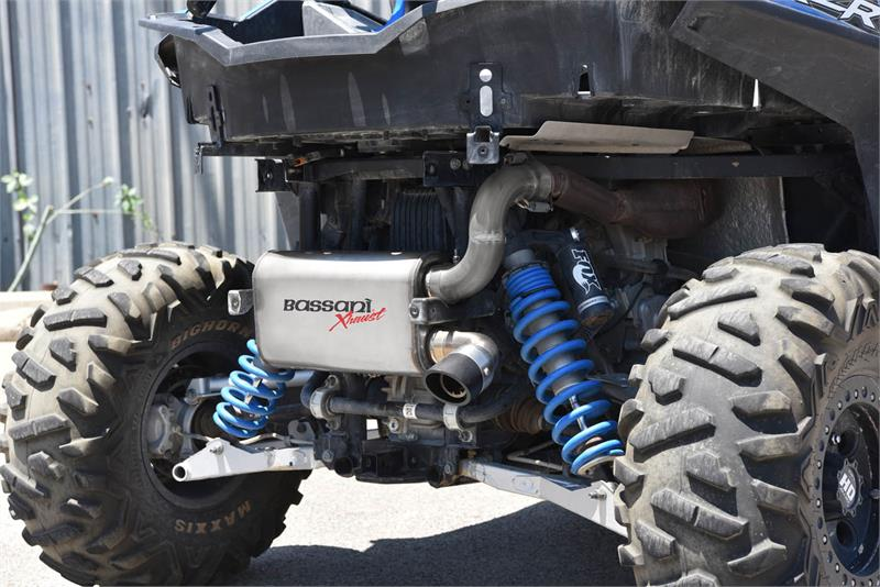 Performance Exhaust System for the Polaris RZR XP 900